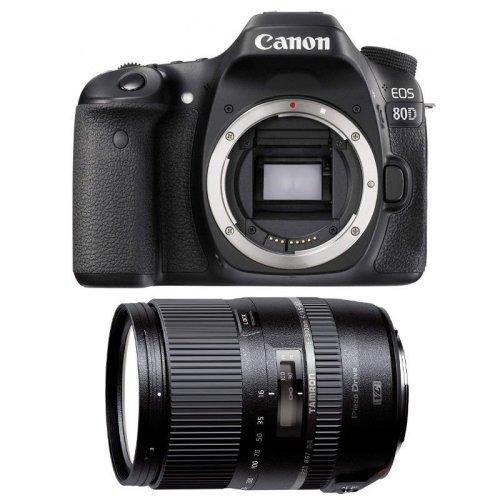 CANON EOS 80D + TAMRON 16-300mm F3.5-6.3 Di II VC PZD MACRO (B016E)