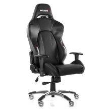 Ak Racing Premium V2 Gaming Chair With Durable Wheels - Black (AK-7002-CB)