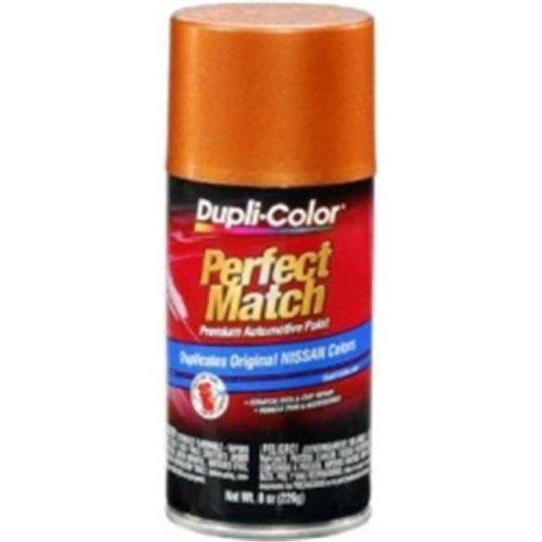 Krylon BNS0503 8 oz Nissan Perfect Match Automotive Paint, Orange Mist Metallic