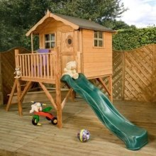 Tulip Playhouse with Tower & Slide