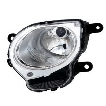 Fiat 500 2008-> High Beam Headlight & Side Light Lamp Passenger Side N/s