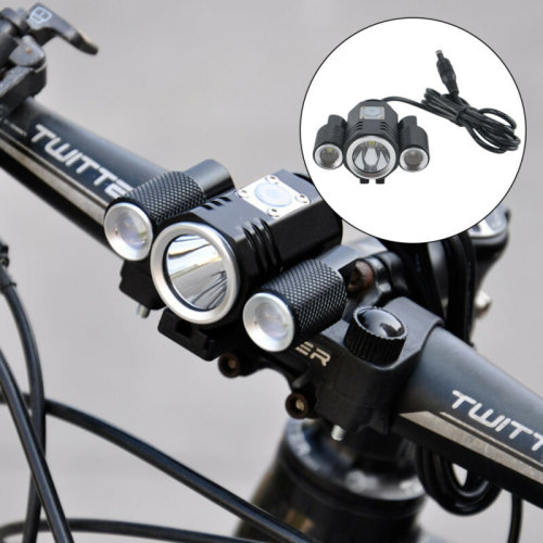 Bright T6 LED Bicycle Bike Front Headlight Rechargeable  Light Lamp Headlight