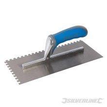 Silverline Adhesive Trowel Soft-grip 280mm -  adhesive trowel softgrip silverline 280mm 880084