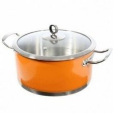 Morphy Richards 46377 Casserole 24cm Orange