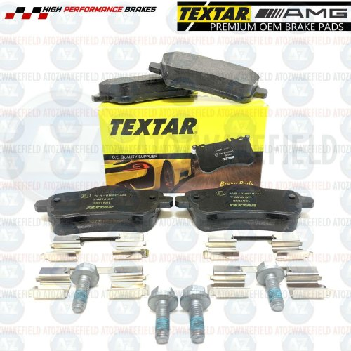 FOR MERCEDES CLA45 A45 GLA45 AMG REAR TEXTAR GERMANY BRAKE PADS SET