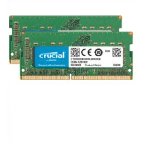 Crucial CT16G4XFD8266 memory module 16 GB DDR4 2666 MHz ECC