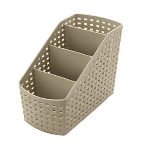 Lovely Small Practical Storage Basket Desktop Receive Container,GRAY