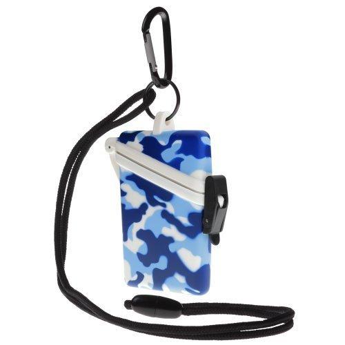 Witz Camo Surf Safe Waterproof Case Blue