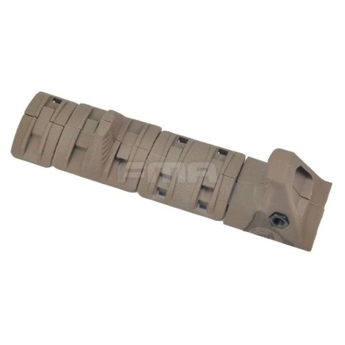 Airsoft Aeg Handguard Hand Stop Rail Cover Panels Kit Set Ris Grip Tan De Xtm