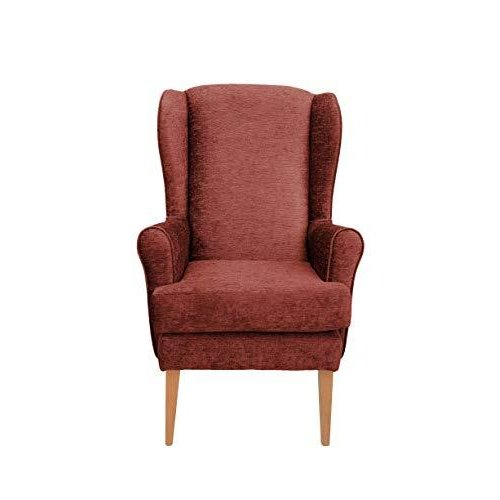 MAWCARE Darcy Orthopaedic High Seat Chair - 21 x 21 Inches [Height x Width] in Darcy Spice (lc21-Darcy_d)