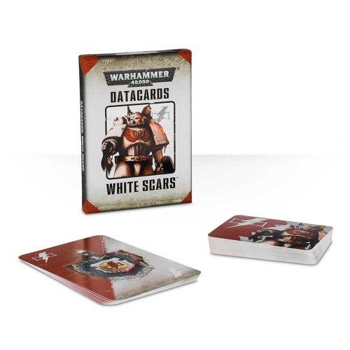 Games Workshop - Warhammer 40,000 - Datacards: White Scars