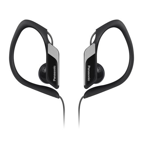 Panasonic Water/Sweat Resistant In Ear Sports Headphones - Black
