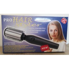 Pro Hair Styler Quick & Easy Way To Perfect Rotating Hair Straightener