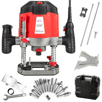 Router tool 1200W incl. accessories