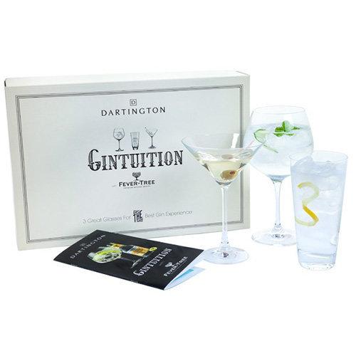 Dartington Crystal Gin Glass, Pack of 3