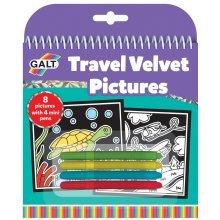 Travel Velvet Pictures Kit - Galt Toys -  galt travel velvet pictures toys