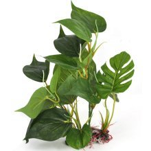 Digiflex 30cm Artificial Aquarium Plant Real Look Fishtank Ornament Green Leaves