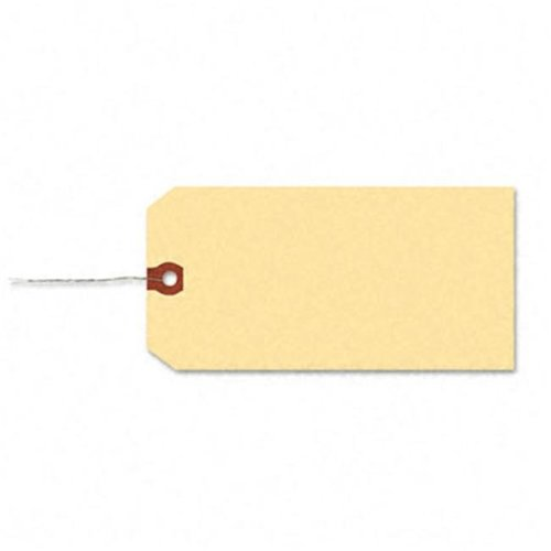 Shipping Tag with Reinforced Eyelet  Paper/Double Wire  5-1/4 x 2-5/8  MLA  1000/Pk