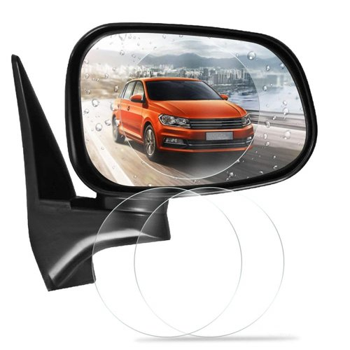 2 PCS Car Rearview Mirror Anti Fog Rainproof Clear Protective Film