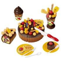 Emulate Kids' Play Birthday Chocolate Cakes Kitchen Funny Children's Toy Kitchen