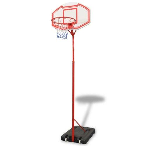 vidaXL Basketball Hoop Ring Board Stand Set Kids Children Outdoor Play 305 cm