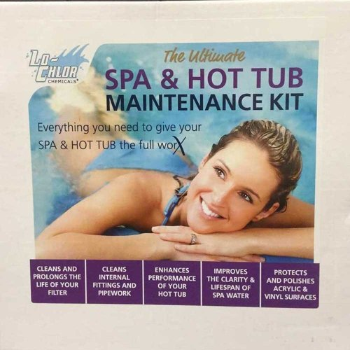 Lo-Chlor Spa & Hot Tub Maintenance Kit - Cleans and Restores Hot Tubs