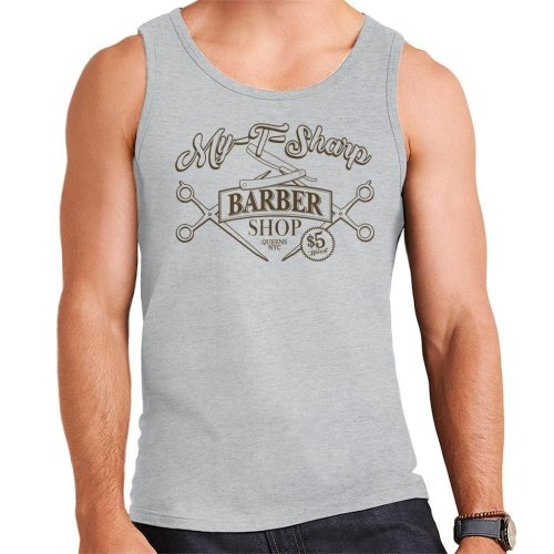 My T Sharp Barber Shop Queens Coming To America Men's Vest