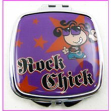 Rock Chick Compact Mirror