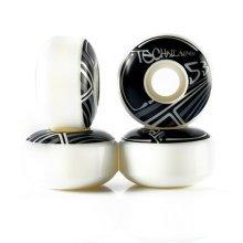 Pro Bat Board Black Skateboard Wheels Set 53MM 100A