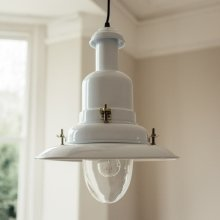 Pendant Fishing Light - White