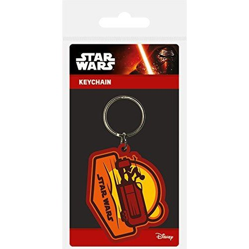 STAR WARS KeyChain EPISODE VII Movie Key Chain REY SPEEDER