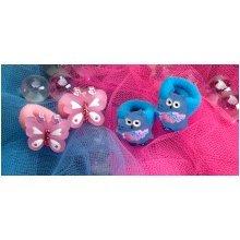 Butterfly & Owl Hair Bobbles - Wild Republic Butterfly & Owl Hair Bobblesx 4 Childrens Animal Hair Accessory
