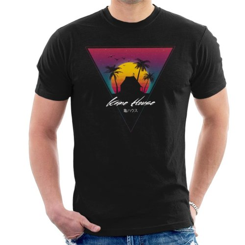 Dragon Ball Z Kame House Sunset Men's T-Shirt