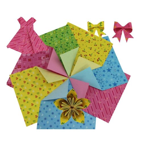 360 Pieces of Origami Craft Paper 15x15cm