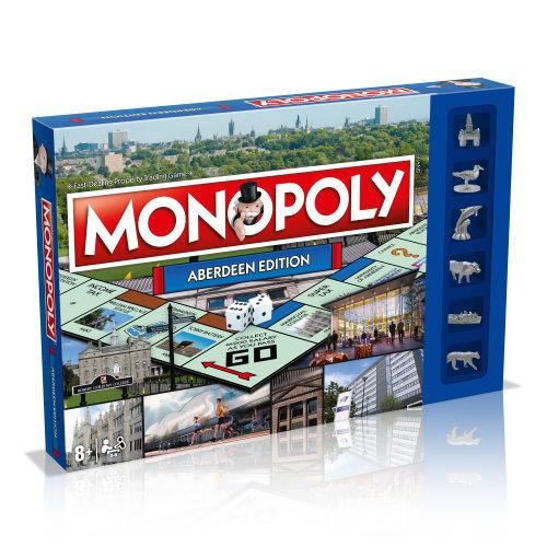 Aberdeen Monopoly Board Game
