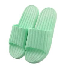 Indoor Cozy Bathroom Non-slip Slippers House Slipper For Womens, Green