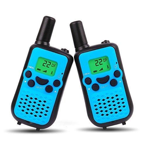 UOKOO Walkie Talkies 446MHZ 2 PCS Long Range Wireless Interphone 2 Way Radio 2 Miles (up to 3 Miles) Handheld Walkie Talkies for Kids/Children Toys...