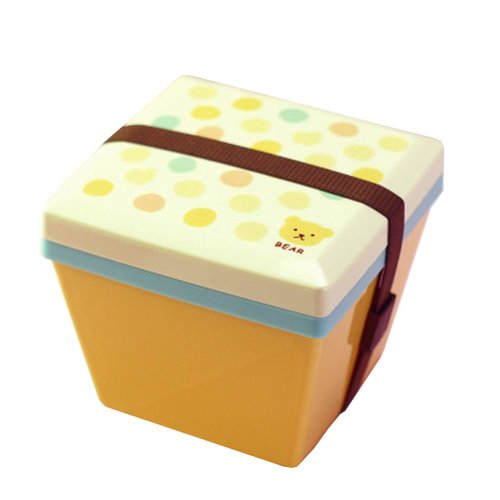 Lovely 2 Layers Bento Lunch Box Food Container Salad Box Bear