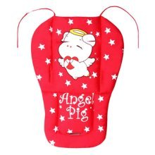Soft Thicken Baby Strollers Mat Stroller Seat Liners - Red Pig