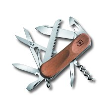 Victorinox Evowood 17 Swiss Army Knife Delemont Collection with Walnut Handle