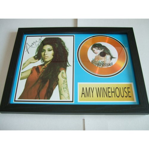 AMY WINEHOUSE  SIGNED DISC