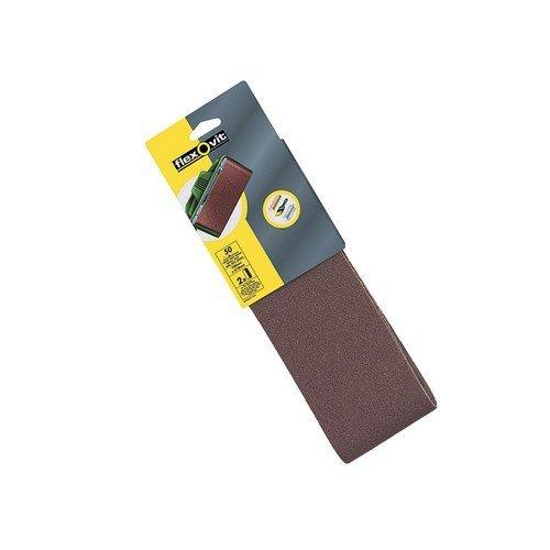Flexovit 63642526471 Cloth Sanding Belts 560mm x 100mm 50g Coarse Pack of 2