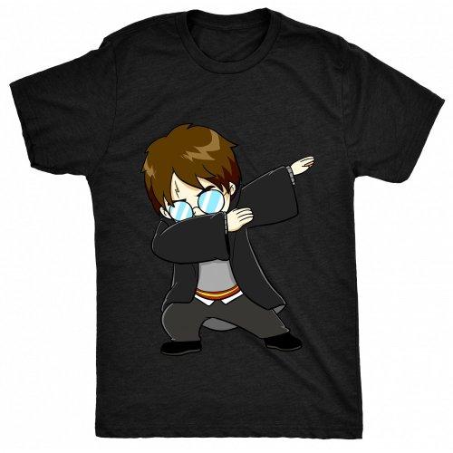 8TN Dabbing Harry Dab - Funny Kids Fan Potter Wizard Mens T Shirt
