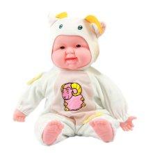 Lifelike Realistic Baby Doll/ Zodiac Doll/ Soft Body Play Doll, Goat Baby Doll
