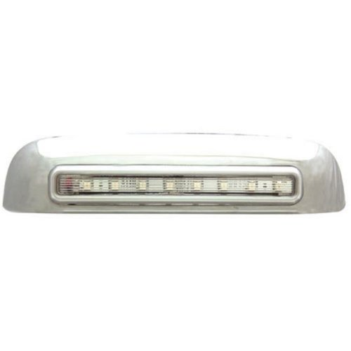 IPCW CLR02CT Chevrolet Avalanche 2002 - 2006 LED Tailgate Handle, Chrome Red Led, Clear Lens