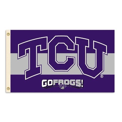 NCAA TCU Horned Frogs 3-by-5 Foot Flag With Grommets