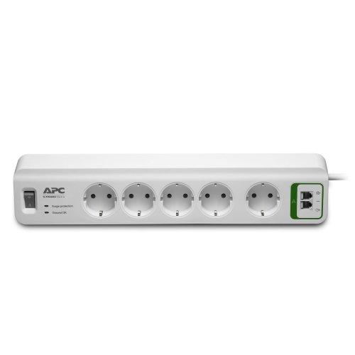 APC PM5T-GR 5AC outlet(s) 230V 1.83m White surge protector