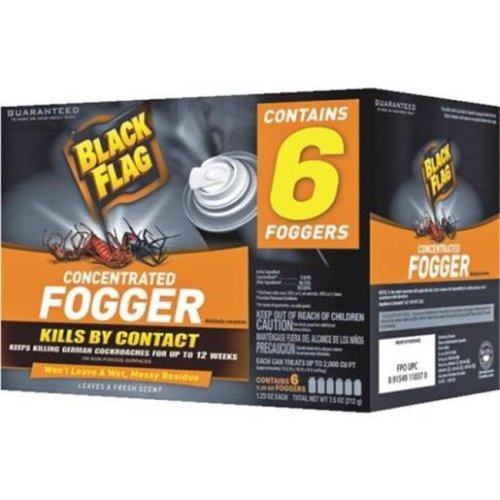 Spectracide 511053 1.25 oz Black Flag Concentrated Indoor Fogger