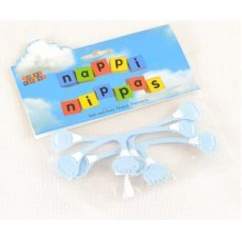 3 Pack Safety Nappy Pins Baby Diaper Fasteners