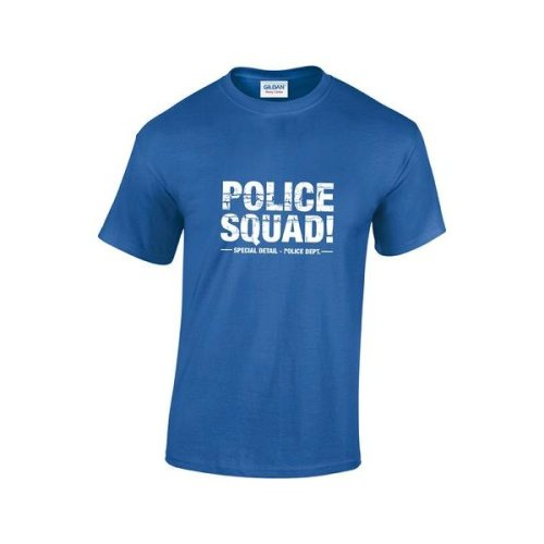 8bd9ff10f Vintage Movie Police Squad Mens Film T-Shirt on OnBuy